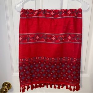 Patterned Scarf (OS)